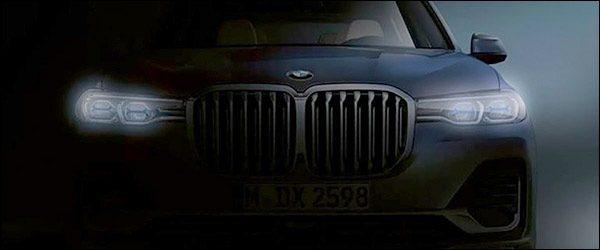 Teaser: BMW X7 SUV (2018)