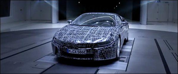 Teaser: BMW i8 Roadster (2018)