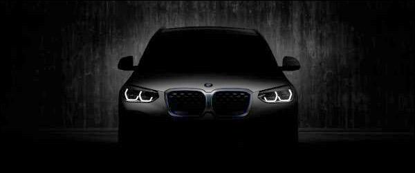 Teaser: BMW iX3 SUV (2020)