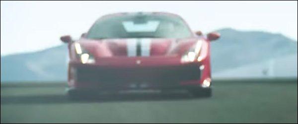 Teaser: Ferrari 488 GTO / 488 Speciale (2018)