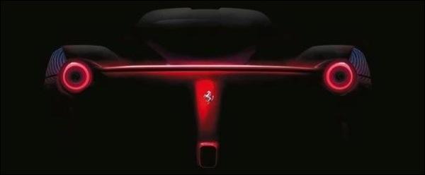 Teaser Ferrari F70