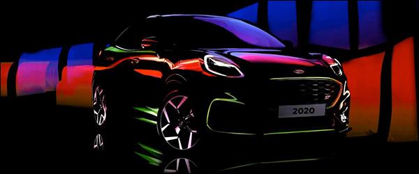 Teaser: Ford Puma ST (2020)