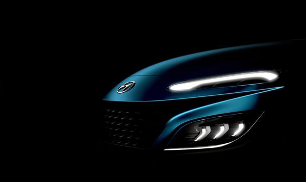 Teaser: Hyundai Kona facelift (2020)