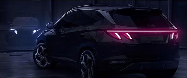 Teaser: Hyundai Tucson SUV (2020)