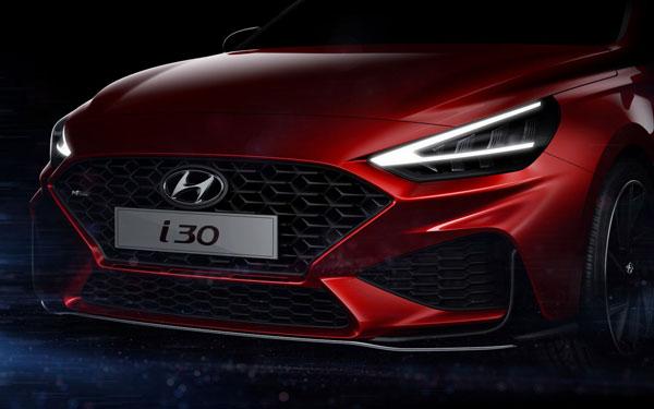 Teaser: Hyundai i30 facelift (2020)