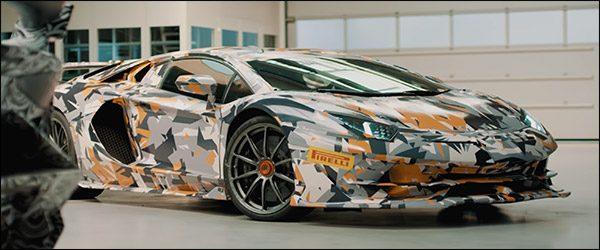 Teaser: Lamborghini Aventador SVJ is alvast zeer snel