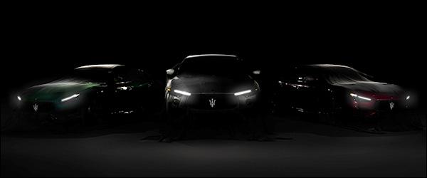 Teaser: Maserati Ghibli Trofeo + Quattroporte Trofeo (2020)