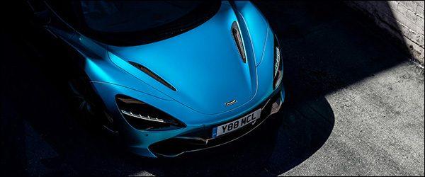 Teaser: McLaren 720S Spider (2018)