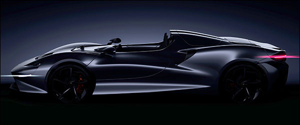Teaser: McLaren Speedster (2020)