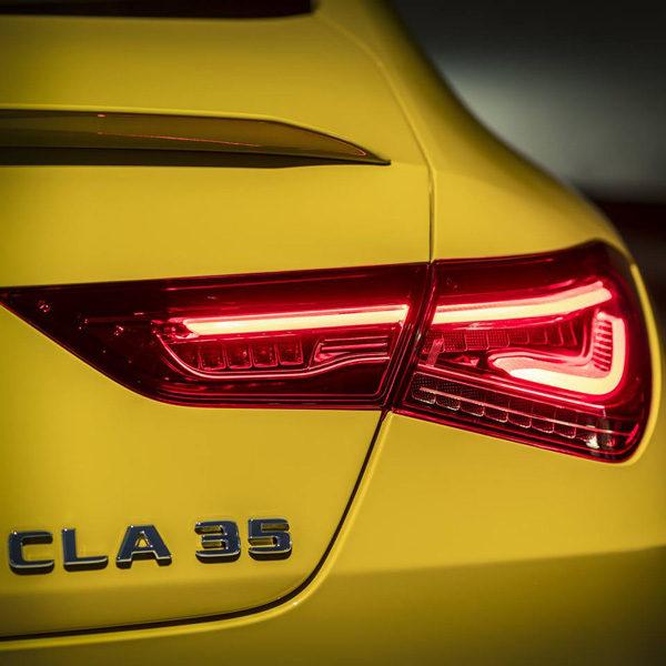 Teaser: Mercedes-AMG CLA35 (2019)