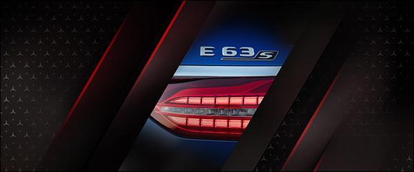 Teaser: Mercedes-AMG E63 facelift (2020)