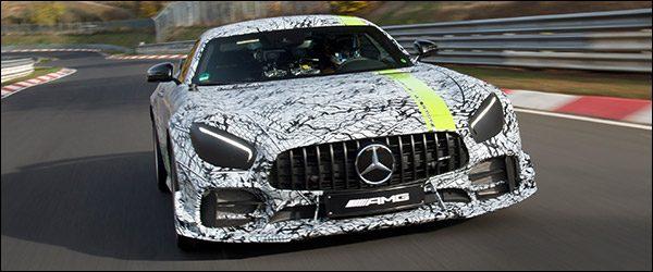 Teaser: Mercedes-AMG GT R PRO (2018)