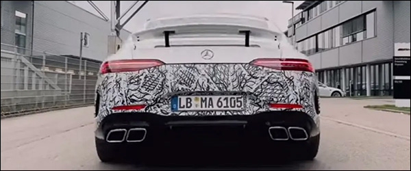Teaser: Mercedes-AMG GT73 4-Door plug-in hybride (2020)