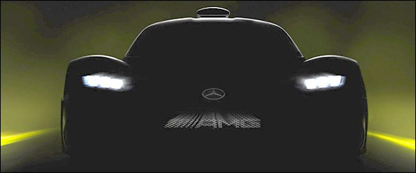 Teaser: Mercedes-AMG Project One hypercar (2017)