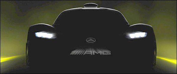 Teaser: Mercedes-AMG Project One hypercar (2017)