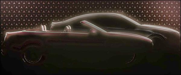 Teaser: Mercedes E-Klasse Coupe en E-Klasse Cabrio facelift (2020)