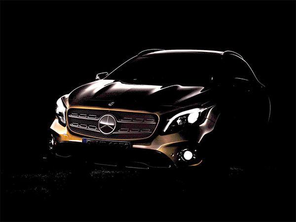 Teaser: Mercedes GLA-Klasse facelift (2017)