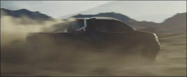 Teaser: Mercedes X-Klasse pickup (2017)