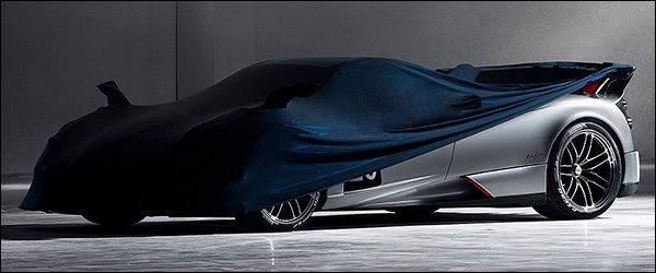 Teaser: Pagani Huayra Roadster BC (2019)