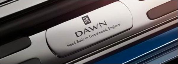 Teaser: Rolls-Royce Dawn [Wraith Drophead Coupé]
