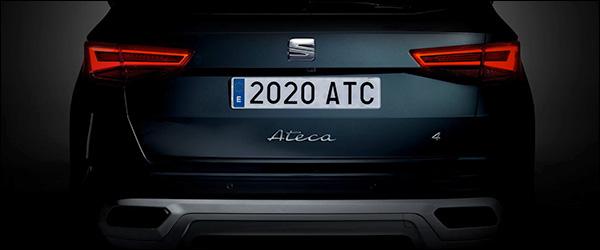 Teaser: Seat Ateca facelift (2020)