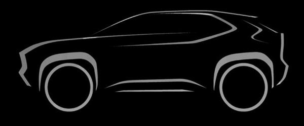 Teaser: Toyota Yaris crossover (2020)