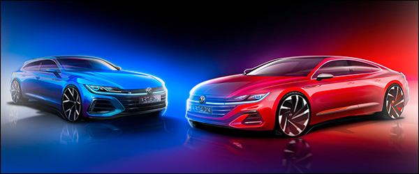 Teaser: Volkswagen Arteon facelift, inclusief Arteon Shooting Brake (2020)