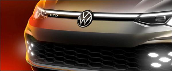 Teaser: Volkswagen Golf GTD (2020)