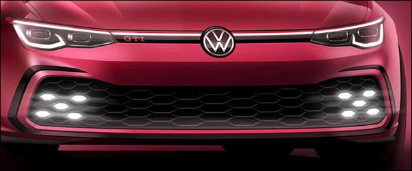 Teaser: Volkswagen Golf GTI (2020)