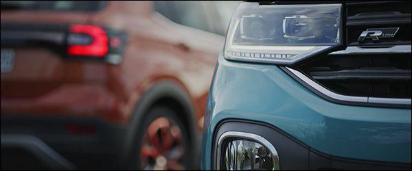 Teaser: Volkswagen T-Cross SUV (2018)