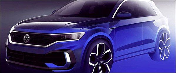 Teaser: Volkswagen T-Roc R (2019)