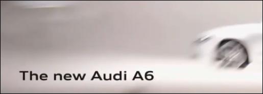 Teaser nieuwe audi a6