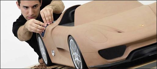 Porsche 918 Spyder Teaser
