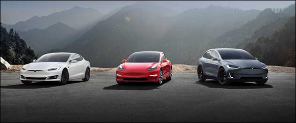 Autosalon Brussel 2020: Tesla line-up