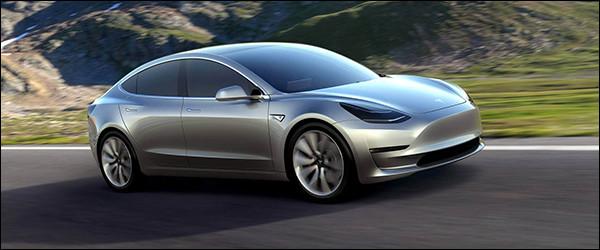 325.000 bestellingen voor de Tesla Model 3 op één week!