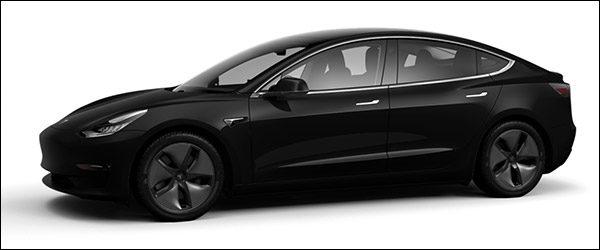 Belgische prijs Tesla Model 3 daalt tot 47.800 euro (2019)