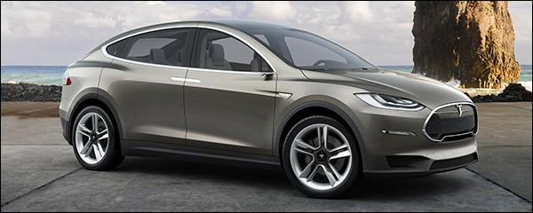 Tesla Model X tegen 2016 in de showrooms