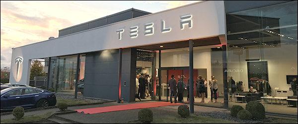 Tesla Store Zaventem breidt stevig uit wegens groot succes
