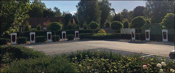 Tesla opent elfde Belgisch Superchargerstation in Brugge