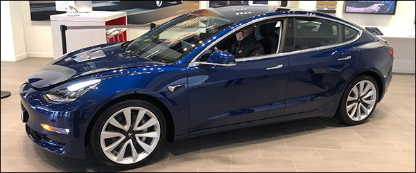Autosalon Brussel 2019: Tesla Line-up