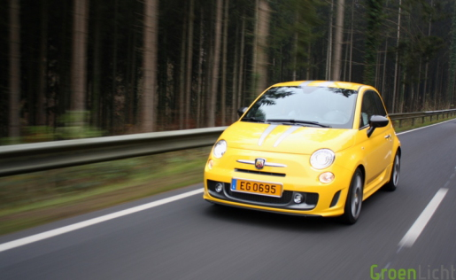Test Abarth 695 Tributo Ferrari