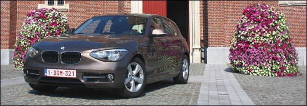 Test BMW 116d EfficientDynamics Edition 2012 F20