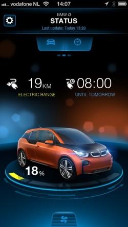 Test BMW i3 iPhone