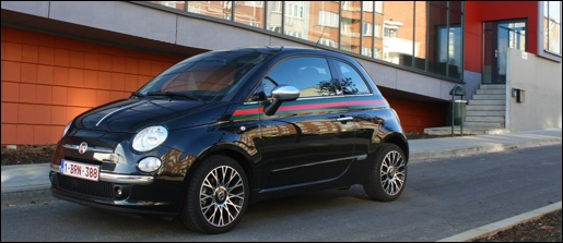 Test Fiat 500 by Gucci