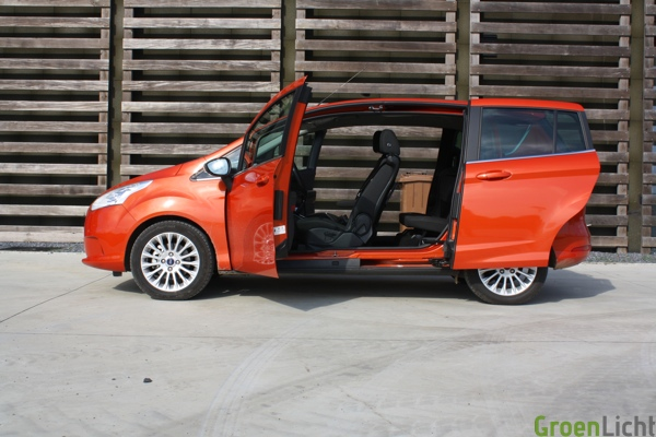 Test Ford B-Max 2012
