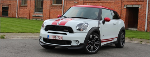 Test MINI Countryman JCW