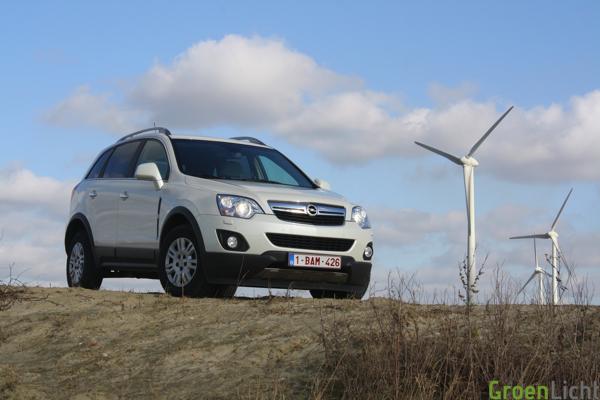 Test Opel Antara 2012
