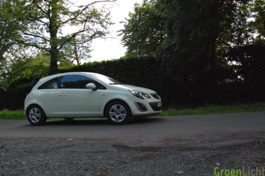 Test Opel Corsa Facelift