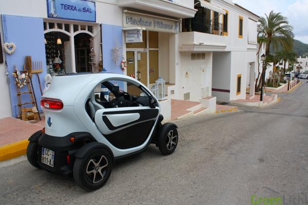 Rijtest Renault Twizy Groenlichtbe