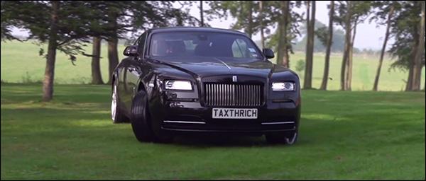 Video: de tuin omploegen met een Rolls Royce Wraith [TaxTheRich]